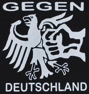 Detailansicht Girlie-Shirt: Gegen Deutschland