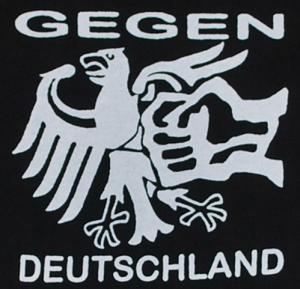 Detailansicht Kapuzen-Pullover: Gegen Deutschland