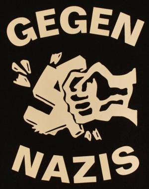 Detailansicht Tanktop: Gegen Nazis