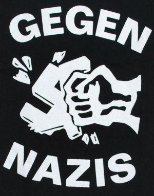 Detailansicht T-Shirt: Gegen Nazis