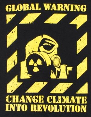 Detailansicht Kapuzen-Pullover: Global Warming