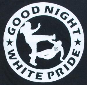 Detailansicht Longsleeve: Good Night White Pride (dicker Rand)