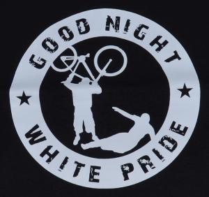 Detailansicht Tanktop: Good Night White Pride - Fahrrad