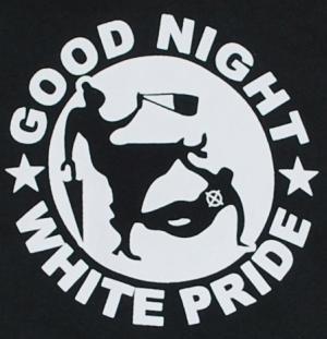 Detailansicht Sweat-Jacket: Good Night White Pride - Oma