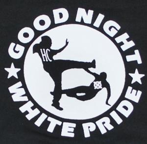 Detailansicht Sweat-Jacket: Good Night White Pride