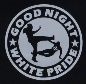 Detailansicht Babybody: Good night white pride