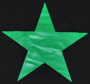 Detailansicht T-Shirt: Grüner Stern