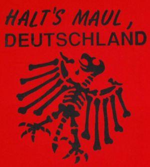 Detailansicht T-Shirt: Halt's Maul Deutschland