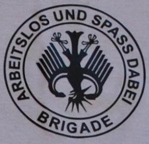 Detailansicht T-Shirt: Hartz 4 - Arbeitslos und Spass dabei - Brigade