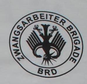 Detailansicht T-Shirt: Hartz 4 - Zwangsarbeiter Brigade BRD