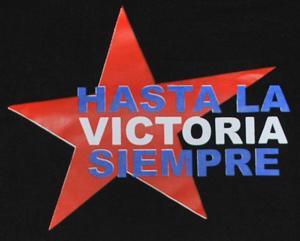 Detailansicht T-Shirt: Hasta la victoria siempre