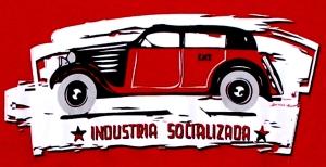 Detailansicht tailliertes T-Shirt: Industria Socializada