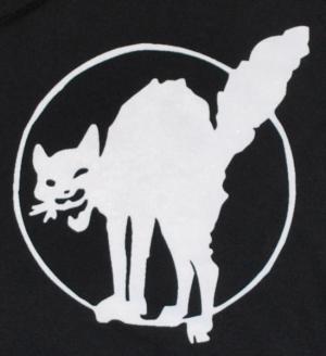 Detailansicht Kapuzen-Pullover: Katze