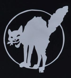 Detailansicht Fairtrade T-Shirt: Katze