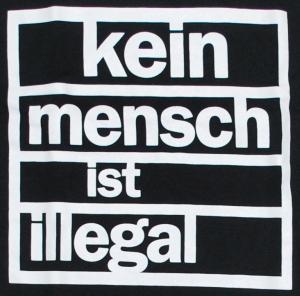 Detailansicht Longsleeve: kein mensch ist illegal