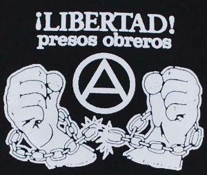 Detailansicht T-Shirt: Libertad presos obreros!