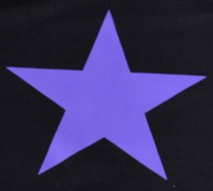 Detailansicht T-Shirt: Lila Stern
