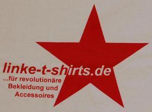 Detailansicht T-Shirt: linke-t-shirts.de