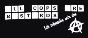 Detailansicht Kapuzen-Pullover: LL COPS RE BSTRDS