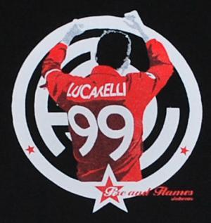 Detailansicht T-Shirt: Lucarelli black