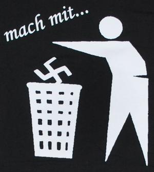 Detailansicht T-Shirt: Mach mit ...
