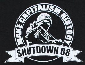 Detailansicht T-Shirt: Make Capitalism History