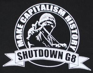 Detailansicht Sweat-Jacket: Make Capitalism History