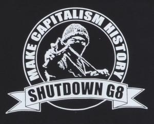 Detailansicht Fairtrade T-Shirt: Make Capitalism History