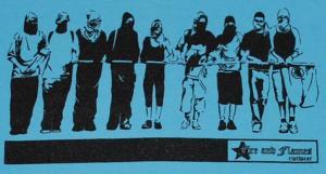 Detailansicht T-Shirt: Mob blue
