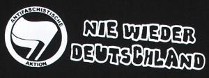 Detailansicht T-Shirt: Nie wieder Deutschland