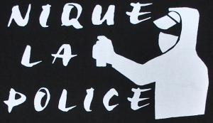 Detailansicht T-Shirt: Nique la police