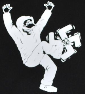 Detailansicht Kapuzen-Pullover: No Fear