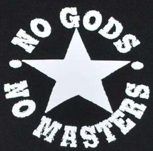 Detailansicht Sweat-Jacket: No Gods No Masters