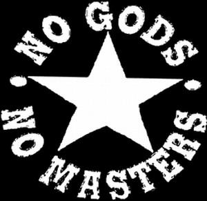 Detailansicht Polo-Shirt: No Gods No Masters