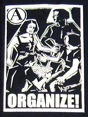 Detailansicht T-Shirt: Organize
