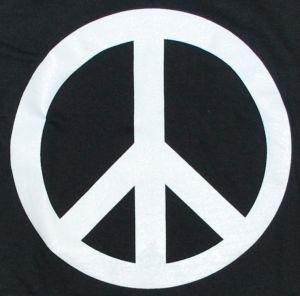 Detailansicht T-Shirt: Peacezeichen