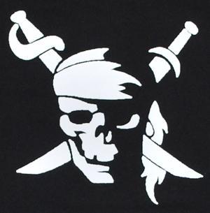Detailansicht Sweat-Jacket: Pirate