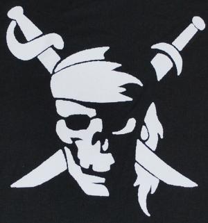 Detailansicht Top / Trägershirt: Pirate