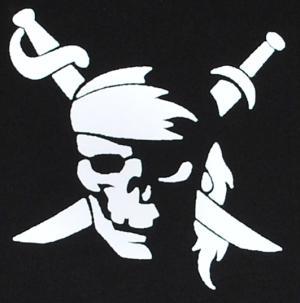 Detailansicht Kapuzen-Pullover: Pirate