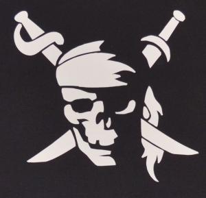 Detailansicht Fairtrade T-Shirt: Pirate