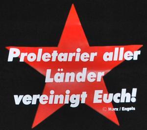 Detailansicht T-Shirt: Proletarier aller Länder vereinigt Euch!