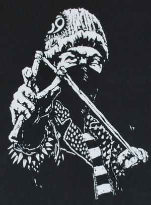 Detailansicht Trägershirt: Punker Zwille