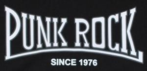 Detailansicht Kapuzen-Pullover: Punkrock - since 1976