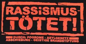 Detailansicht T-Shirt: Rassismus tötet!