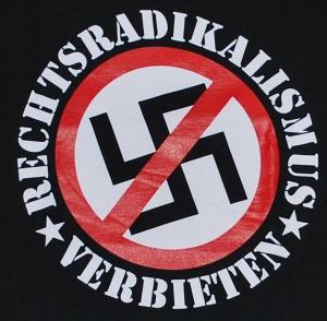 Detailansicht T-Shirt: Rechtsradikalismus verbieten