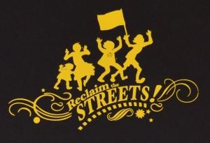 Detailansicht Fairtrade T-Shirt: Reclaim the Streets