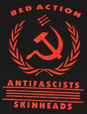 Detailansicht tailliertes T-Shirt: Red Action