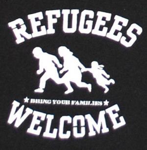 Detailansicht Shorts: Refugees welcome