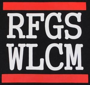 Detailansicht Girlie-Shirt: RFGS WLCM