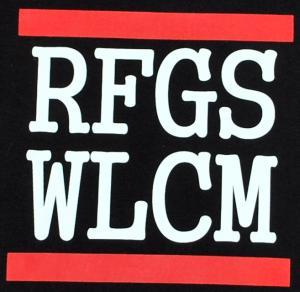 Detailansicht tailliertes Tanktop: RFGS WLCM
